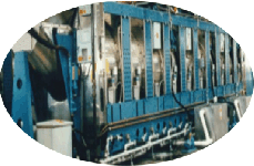Milnor CBW tunnel washer